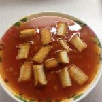 томатный суп с фасолью Н