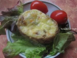 Жюльен в картофельных лодочках – кулинарный рецепт