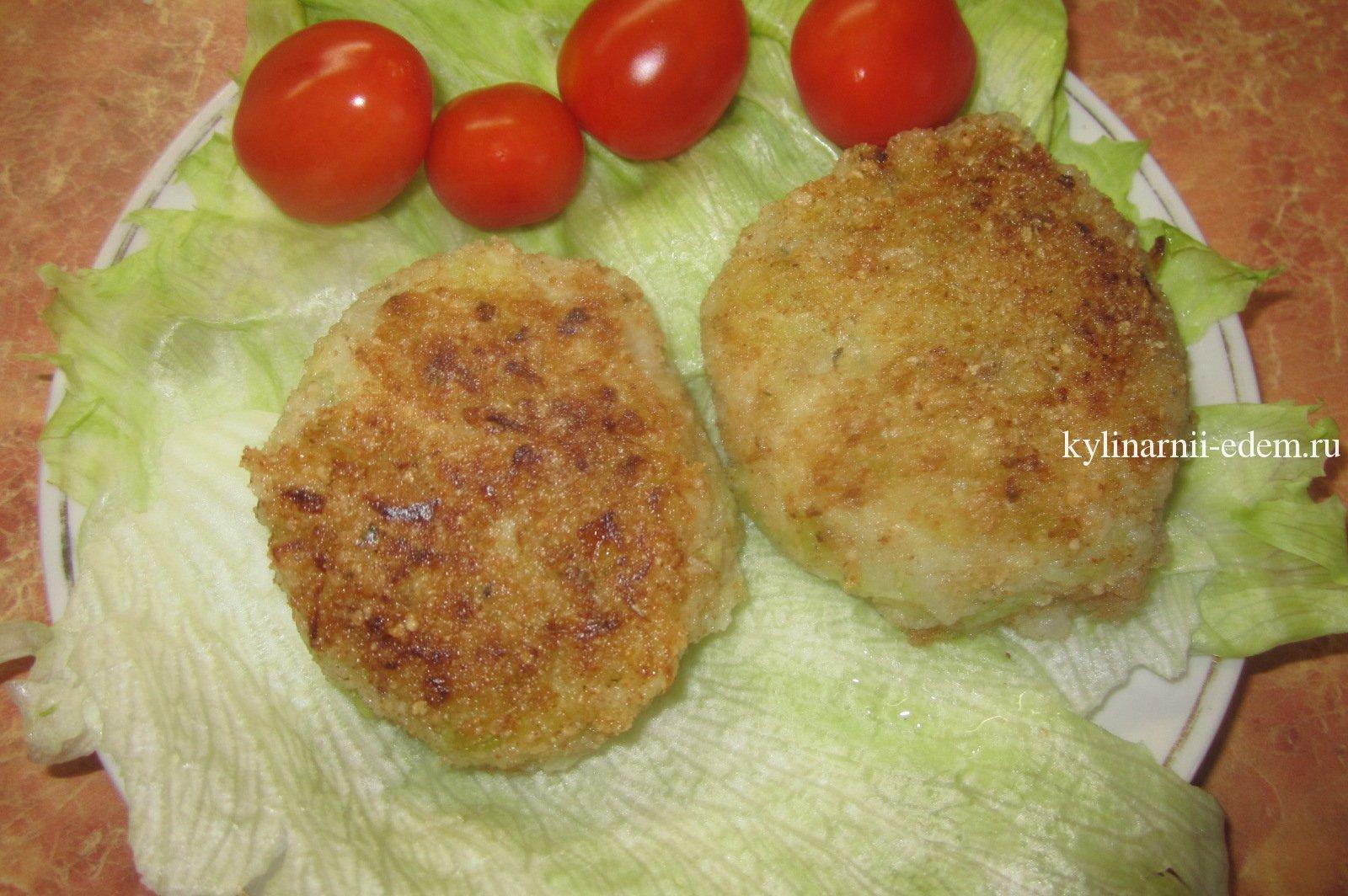 Диетические капустные котлеты в духовке рецепт пошагово в