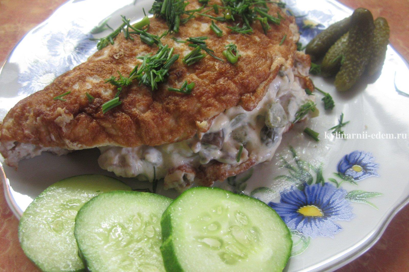 Бризоль из свинины рецепт с фото