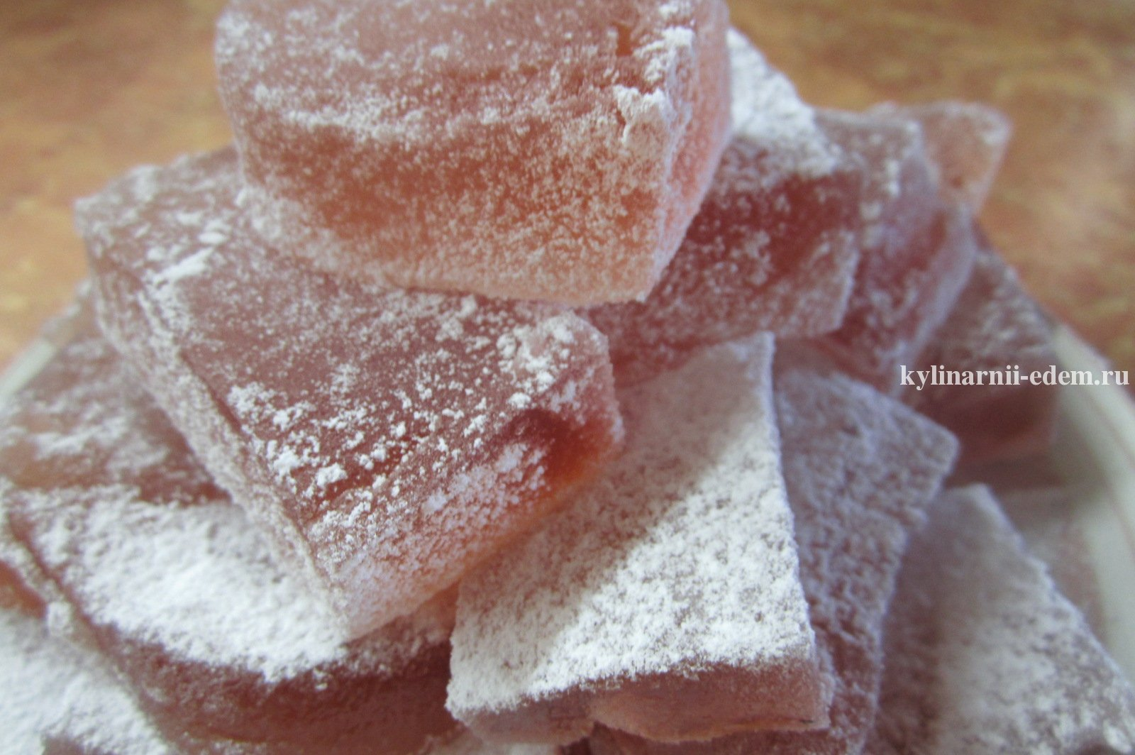 Рецепт мармелада в домашних условиях пошагово