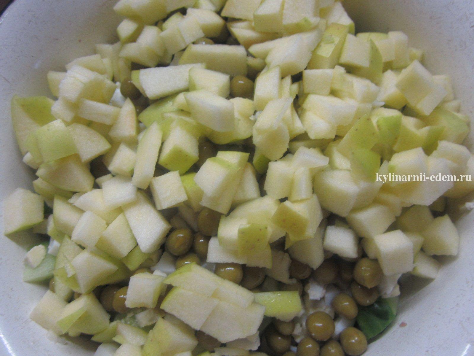 Салат из скумбрии в масле рецепт пошагово