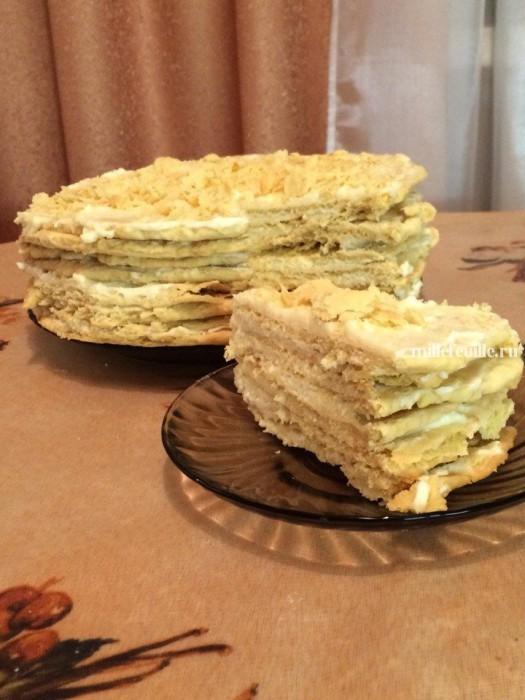 Рецепт торта наполеон быстро